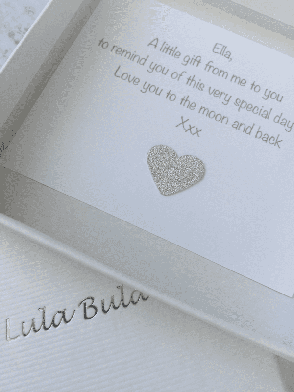 Keepsake First Holy Communion gift for a Goddaughter- FREE ENGRAVING